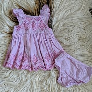 Baby Gap dress w/bloomers 3-6M